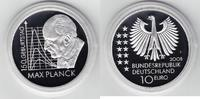 10 Euro 2008 Bundesrepublik Deutschland Max Planck Spiegelglanz PP, Ori... 19,00 EUR  +  6,00 EUR shipping