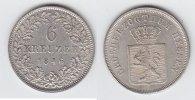 6 Kreuzer 1846 Hessen-Darmstadt Ludwig II. 1830-1848 vorzüglich-prägefr... 79,00 EUR  +  10,00 EUR shipping