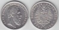 5 Mark 1888 F Württemberg Karl 1864-1891 F...