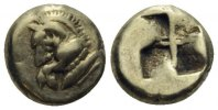 Hemihekte 550-500 v.C MYSIEN  ss-vz