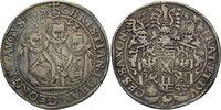 Taler 1592  Christian II., Johann Georg I....