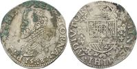 1/2 Ecu 1587 BELGIEN Philipp II. von Spani...