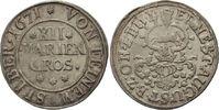 12 Mariengroschen 1671 Zeller  Ernst Augus...