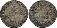 12 Mariengroschen 1674 Zeller  Rudolf Augu...