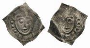 vierzipfeliger Pfennig 1150/60   ss+, SR