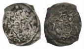 vierzipfeliger Pfennig 1170/80   ss+
