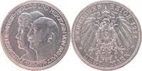 3 Mark 1914  A Anhalt Friedrich II. 1904-1...