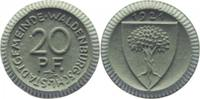 20 Pfennig 1921 Waldenburg/Schlesien  vorz...