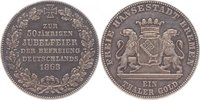 Taler 1863 Bremen-Stadt  f. vorzüglich