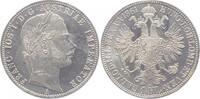 Gulden 1861  A  Franz Joseph I. 1848-1916. Stempelglanz  60,00 EUR  +  7,00 EUR shipping