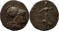 tetradrachm 39-25 BC. Ancient Greek Königr...