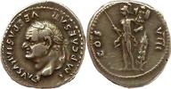 denarius 77-78 AD. Roman Imperial Vespasia...