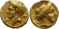 litra or 1/10 stater 322-313 BC. Ancient G...