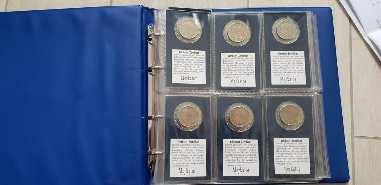 1957 1971 2 Dm Max Planck Komplette Sammlung 1957 1971