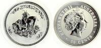 2003  50 Cents Jahr der Ziege 1/2 Unze Silber ST  60,00 EUR  +  7,00 EUR shipping