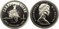 1975  1 Dollar 100 Jahre Calgary prooflike  13,00 EUR  +  4,00 EUR shipping