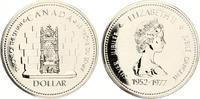1977  Kanada 1 Dollar 1977 Senatsthron Queen Elisabeth prooflike  11,00 EUR  +  4,00 EUR shipping