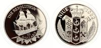 1992  Niue 10 Dollars Flagschiff Resolution pp  30,00 EUR  +  7,00 EUR shipping