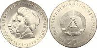 1971  20 Mark Liebknecht / Luxemburg ST  55,00 EUR  Excl. 7,00 EUR Verzending