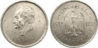 1932 A  3 Mark Goethe vz-st  95,00 EUR  Excl. 7,00 EUR Verzending