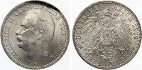 1914  3 Mark Baden vz-st  55,00 EUR  Excl. 7,00 EUR Verzending