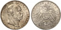 1901  2 Mark Sachsen Altenburg 1901  vorzüglich - stempelglanz  700,00 EUR  Excl. 7,00 EUR Verzending