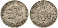 1933 A  5 Mark Luther ss-vz  115,00 EUR  +  7,00 EUR shipping