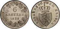 1838  Hessen-Darmstadt 6 Kreuzer vz-st prachtvolle Erhaltung  65,00 EUR  +  7,00 EUR shipping