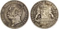1860  Hessen-Darmstadt 1 Taler ss  99,00 EUR  +  7,00 EUR shipping