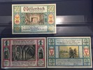 Geldschein Möllenbeck 50 Pfennig 1 Mark...