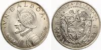 """1966  Panama 1 Balboa """"Vasco Nunez d..."""