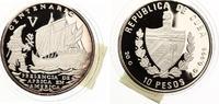 1992  Kuba 10 Pesos Centenario Presencia ...