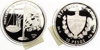 1994  Kuba 10 Pesos Protect de Nuestro Mu...