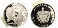 1989  Kuba 5 Pesos Alejandro Humboldt Auf...