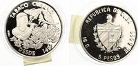 1989  Kuba 5 Pesos Tabaco Cubano 2000 Stü...
