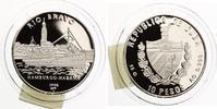 1998  Kuba 10 Pesos Hamburgo Habana pp