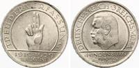 1929 A  3 Mark Schwurhand / Verfassung vz