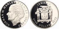 1972  Jamaika 5 Dollars Norman Manley pp