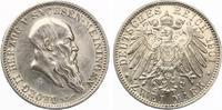 1901  2 MArk Sachsen Meiningen Georg II vz/vz-st  500,00 EUR  Excl. 7,00 EUR Verzending