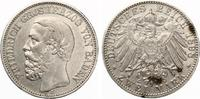 1898  2 Mark Baden ss sehr selten  130,00 EUR  Excl. 7,00 EUR Verzending