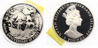 1992  Falkland Islands 5 Pfund 1992 Entde...