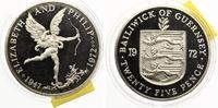 1972  Guernsey 25 Pence 1977 pp einzelne ...