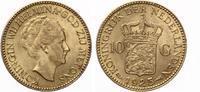 1925  Niederlande 10 Gulden Wilhemina vz