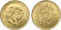 1912  10 Kronen Österreich 1912 Gold bank...