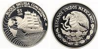 """1999  Mexiko 5 Pesos 1999 """"Buque esc..."""