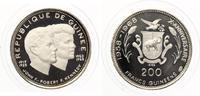 1969  200 Francs Guinea Kennedy Brüder pp...