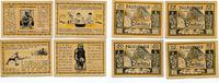 1921  Stellau 2 x 50 Pfennig 2 x 75 Pfenn...