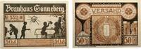 1921  Sonneberg 50 Pfennig Brauhaus Mehl ...