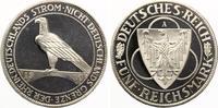 1930 A  5 Mark 1930 A Rheinlandräumung PP...