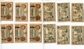1922  Berlin 6 x 50 Pfennig Mehl 90.1 Ord...